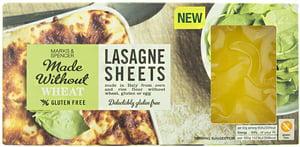 Marks & Spencer Lasagne z kukuřičné a rýžové mouky bezlepkové