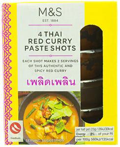 Marks & Spencer Středně pálivá thajská červená kari pasta