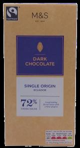 Marks & Spencer Hořká čokoláda