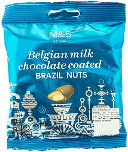 Marks & Spencer Para ořechy v belgické mléčné čokoládě