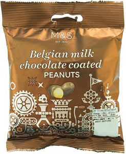 Marks & Spencer Arašídy v belgické mléčné čokoládě