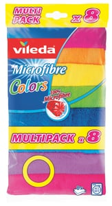 Vileda Mikrohadřík Colors 8ks