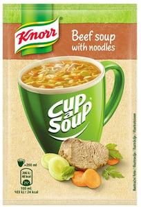 Knorr Cup a Soup Hovězí instantní polévka s nudlemi