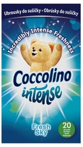 Coccolino Intense Fresh Sky vonné ubrousky do sušičky 20ks
