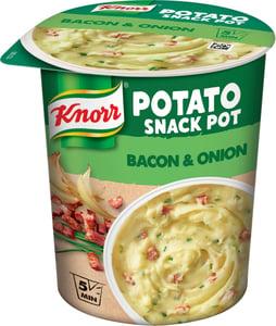 Knorr Snack Bramborová kaše se slaninou a cibulí