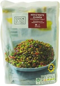 Marks & Spencer Vařená červená a bílá quinoa s pšeničným bulgurem