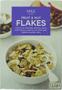 Marks & Spencer Fruit & Nut Flakes