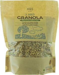 Marks & Spencer 3 Seed Granola