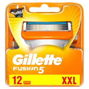 Gillette Fusion5 Holicí Hlavice Pro Muže 12 ks