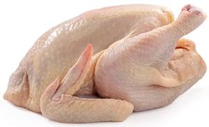 Údlické farmářské kuře celé bez drobů