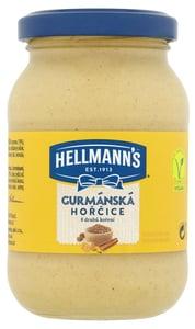 Hellmann's Gurmánská hořčice s 8 druhy koření