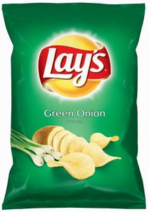 Lay's Chipsy s příchutí jarní cibulky