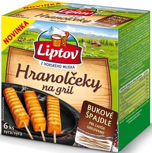 Liptov Hranolčeky na gril, 6 ks