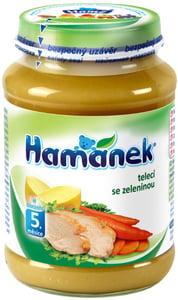 Hamé Hamánek Telecí se zeleninou