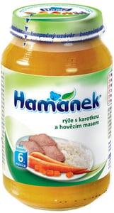 Hamé Hamánek Rýže s karotkou a hovězím masem