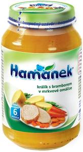 Hamé Hamánek Králík s bramborem v mrkvové omáčce