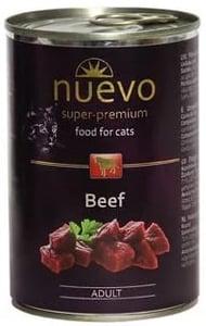 Nuevo Prémiové krmivo pro kočky Adult s hovězím masem