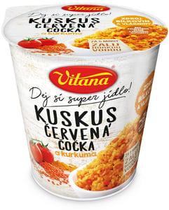 Vitana Kuskus s červenou čočkou a kurkumou