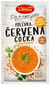 Vitana Polévka s červenou čočkou a kurkumou