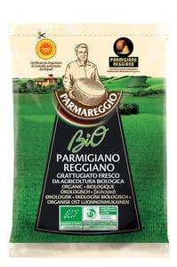 Parmareggio BIO Parmigiano Reggiano DOP parmezán strouhaný