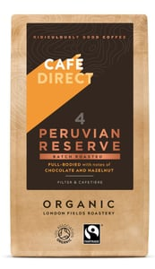 Cafedirect BIO Peruvian Reserve káva mletá