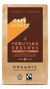Cafédirect BIO Peru Reserve káva zrnková