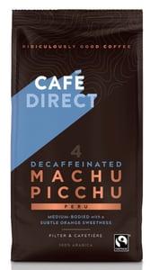 Cafédirect Machu Picchu mletá káva bez kofeinu