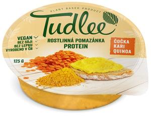 Tudlee Luštěninová pomazánka Protein s červenou čočkou, quinoou a kari kořením