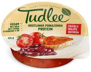 Tudlee Luštěninová pomazánka Protein s fazolí, rajčetem a quinoou