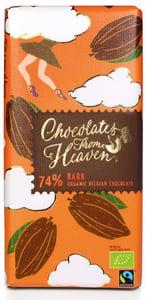 Chocolates From Heaven BIO Hořká čokoláda 74%