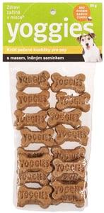 Yoggies Suchary pro psy s krůtím masem a lněným semínkem