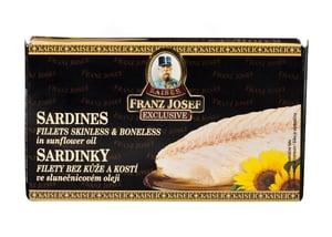 Franz Josef Kaiser Sardinky filety ve slunečnicovém oleji