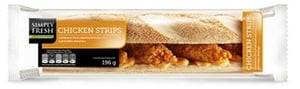 Simply Fresh Chicken Strips Bageta s kuřecím masem a dresinkem