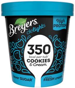 Breyers Delights Cookies&Cream proteinová zmrzlina v kelímku
