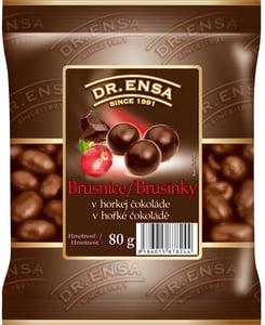 Dr.Ensa Brusinky v hořké čokoládě