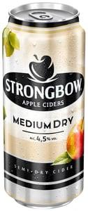Strongbow Medium Dry cider polosuchý plech