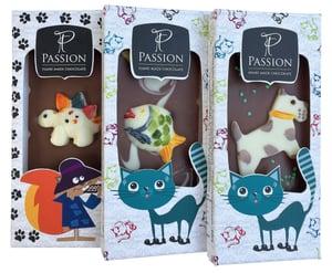 Passion Chocolate Mléčná čokoláda s dětským motivem