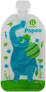 Petite&Mars Kapsička na jídlo Papoo Original Elephant 6 ks