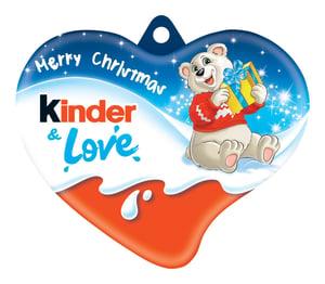 Kinder čokoláda Srdce