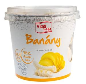 VitaCup Banán mrazem sušený
