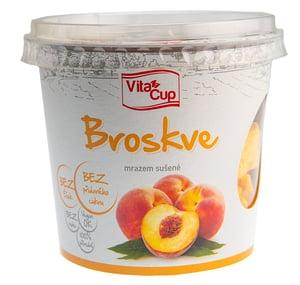 VitaCup Broskve mrazem sušené