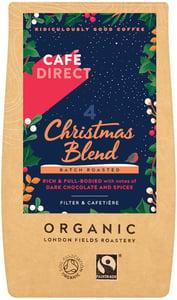 Cafédirect BIO Christmas Blend Mletá káva Peru & Ethiopia - limitovaná vánoční edice