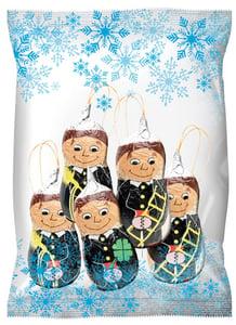 Chocoland Vánoční dekorace sáček Kominík