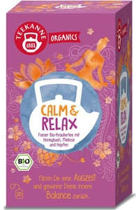 Teekanne BIO Organics Calm & Relax