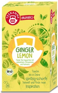 Teekanne BIO Organics Ginger Lemon