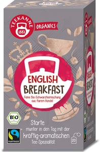 Teekanne BIO Organics English Breakfast
