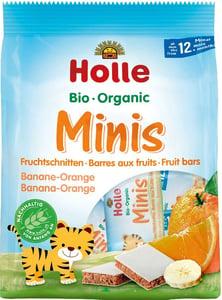 Holle BIO Organické minis banánové s pomerančem