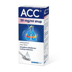 ACC 20MG/ML sirup 1X100ML