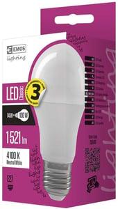 EMOS LED žárovka Classic A60 14W (náhrada 100W), E27, neutrální bílá