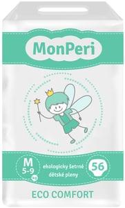 MonPeri Eco Comfort Ekologicky šetrné jednorázové dětské plenky M 5-8 kg
